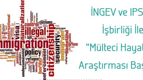 INGEV | Ipsos – Mülteci Hayatlar araştırması başladı..