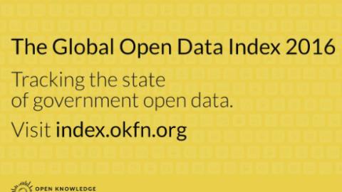 Küresel Açık Veri Endeksi Sonuçları Açıklandı