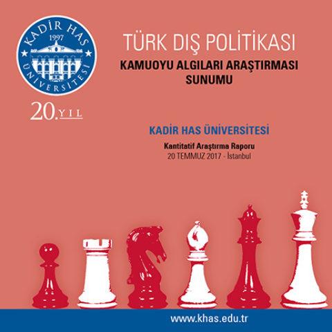 Khas – Türk Dış Politikası Kamuoyu Algıları Araştırması 2017 Yılı Sonuçları