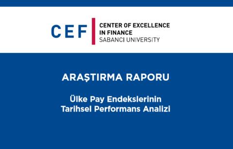 CEF – Ülke Pay Endekslerinin Tarihsel Performans Analizi