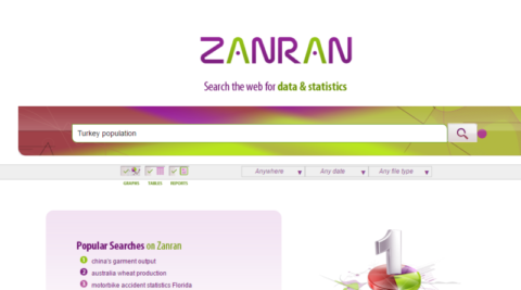 Zanran: Veri Arama Motoru