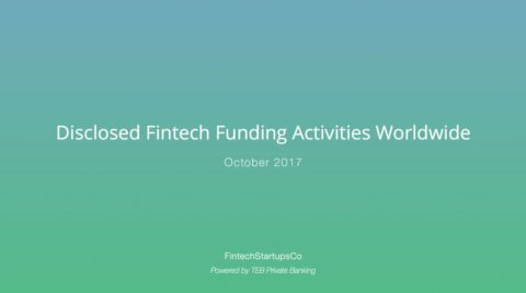 FinTech – Küresel FinTech ekosistemi Ekim 2017 karnesi